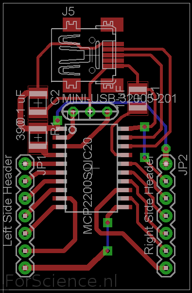 MCP2210 board1 without ISP